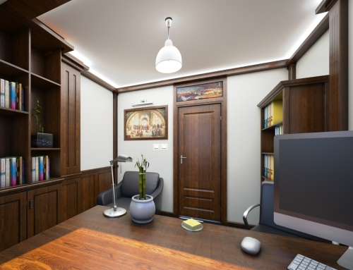 "Law Firm Interior, St. ""William Gladstone"""