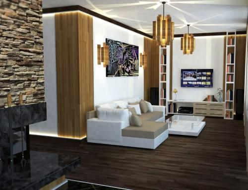 Residential Interior, Lozenets