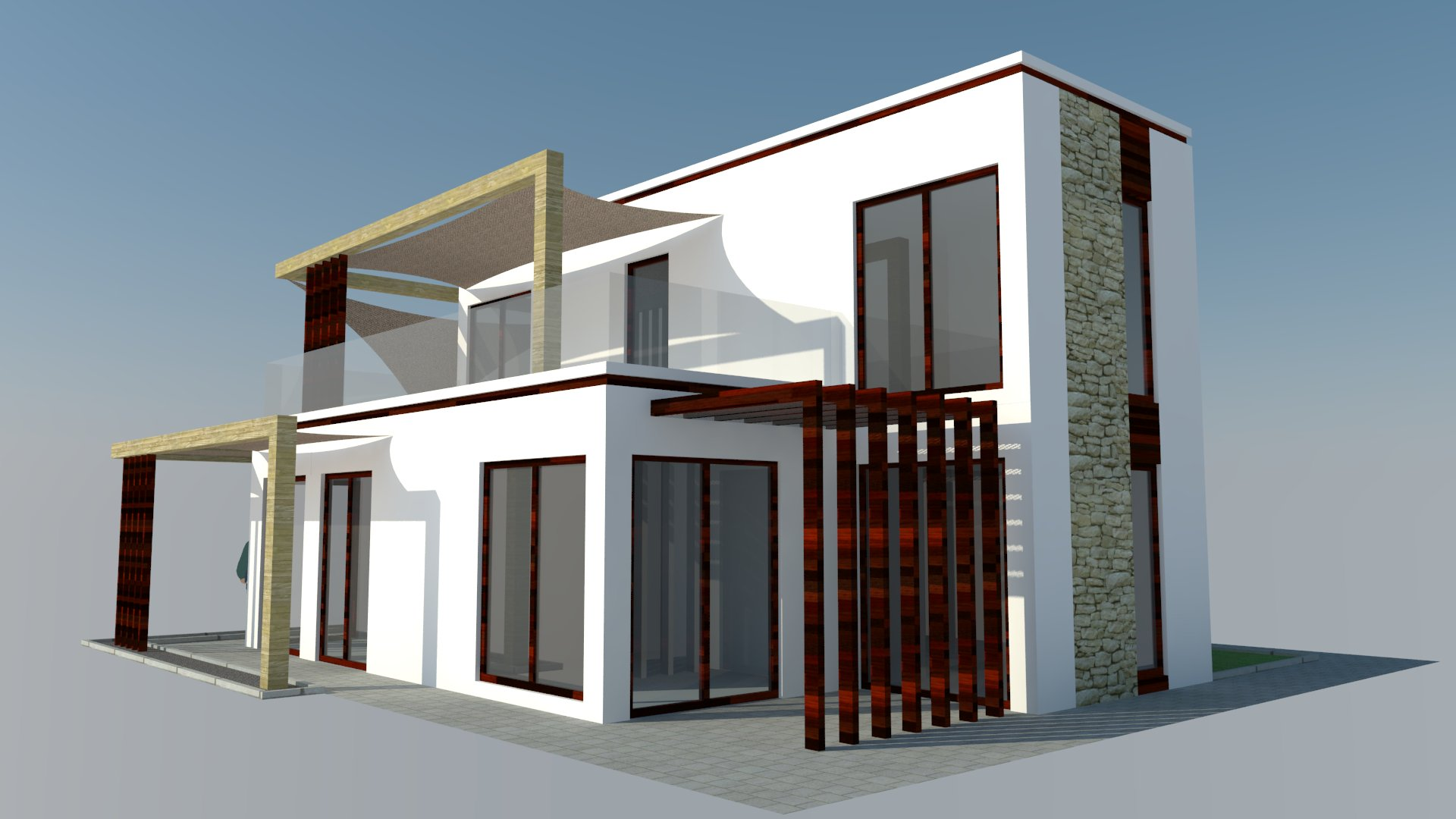 Family House Greece project
