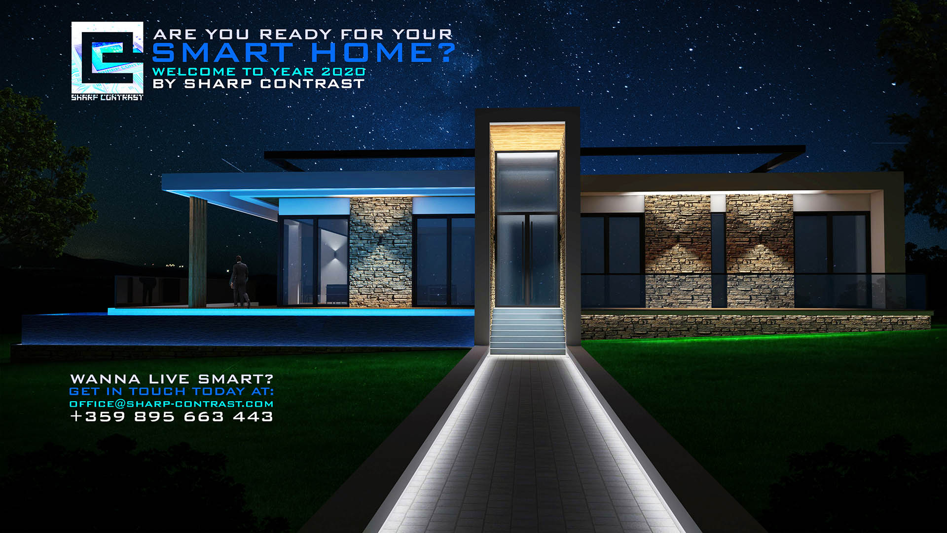 Sharp Contrast smart homes project